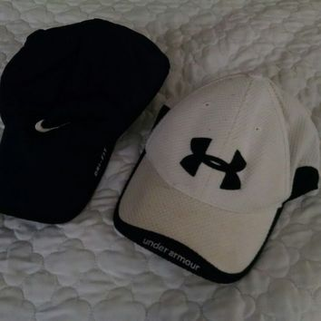 womens baseball caps lot Nike Under Armour adjustable