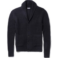 Burberry Brit - Wool and Cashmere-Blend Shawl-Collar Cardigan | MR PORTER