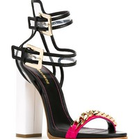 Dsquared2 Chain Trim Colour Block Sandals - Capsule By Eso - Farfetch.com