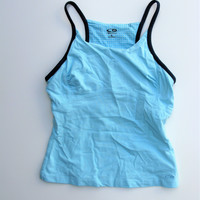 C9 by Champion Baby Blue Racerback Active Workout Yoga Top S