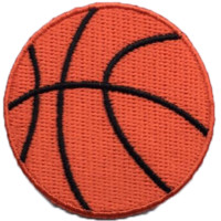 Basketball Emoji Patch