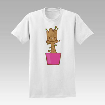 baby groot dancing  t-shirt unisex adults
