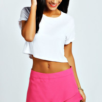 Edie Woven Tailored Skort