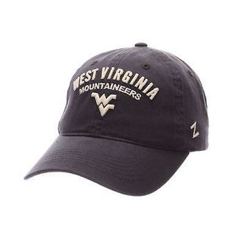 Licensed West Virginia Mountaineers Official NCAA Midterm Adjustable Hat Cap by Zephyr KO_19_1