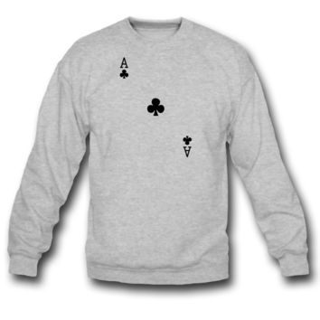 ace of clubs sweatshirt