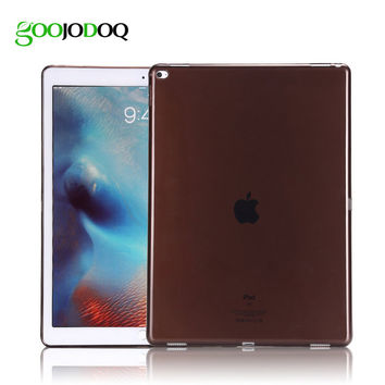 For Apple iPad 2 3 4 Case Silicone Transparent Clear Soft Cover for iPad Mini 1 2 3 Slim TPU Protective Skin Tablet Shell Funda
