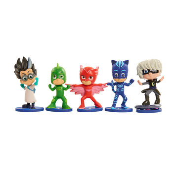 PJ Masks Collectible Figure Set [5 Pack]
