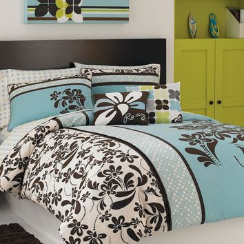 Roxy Bedding, Julia Comforter Sets - Dorm Bedding - Bed & Bath - Macy's