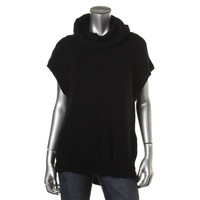 Kenneth Cole New York Womens Knit Raglan Sleeves Pullover Sweater