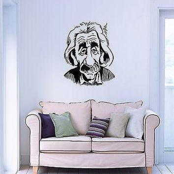 Wall Stickers Vinyl Decal Einstein Theory of Relativity Physics Science Unique Gift (ig982)