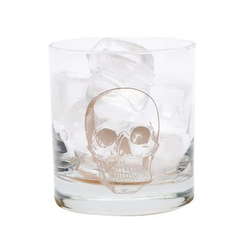 'Skull Rocks' Old-Fashioned Glass