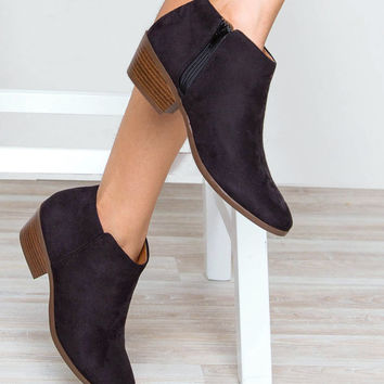 Evelina Booties - Black