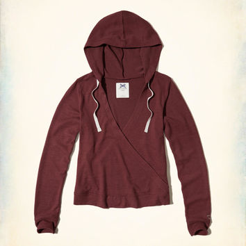 72e89f3fa20bd Gilly Hicks Cozy Wrap Hoodie from Hollister Co.