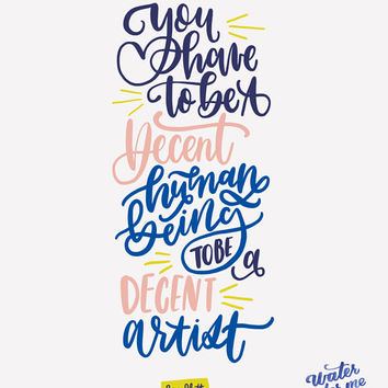 Digital Download // Ben Platt Dear Evan Hansen Tony Awards // Inspiring Quote // Wall Print