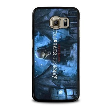 avenged sevenfold samsung galaxy s6 case cover  number 1
