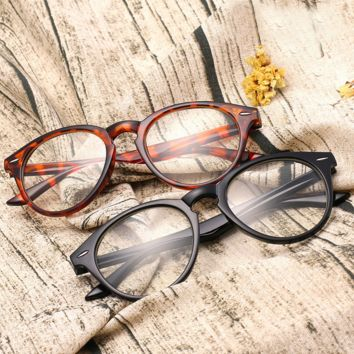 Sweet Vintage Round Wood Printed Sunglass