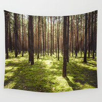 FOREST Wall Tapestry by EwKaPhoto