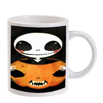 Gift Mugs | Cute Jack Skellington Ceramic Coffee Mugs