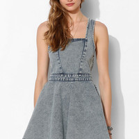 MINKPINK Funday Sunday Denim Dress - Urban Outfitters