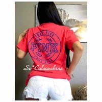 New Victoria's Secret campus tee shirt($ 25) - Mercari: Anyone can buy & sell
