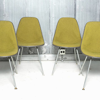 Eames For Herman Miller Fiberglass Chairs