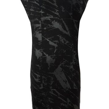 Helmut Lang Print T Shirt Dress
