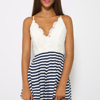 Play Hard Playsuit - Stripe