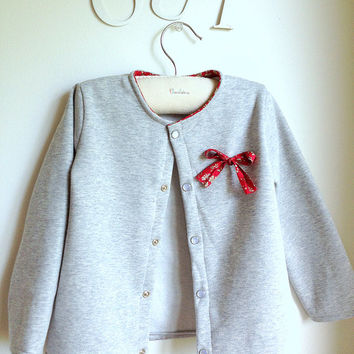 Top - Cardigan - Sweater - Girl - The Marion Cardigan - French Style - Sizes 1T to 8Y