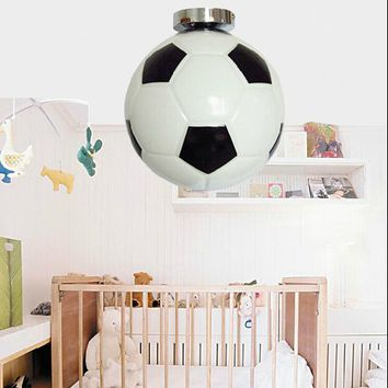 Children Soccer Chandelier