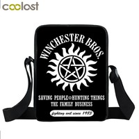 Supernatural and more Mini Messenger Bag  Cross Bag
