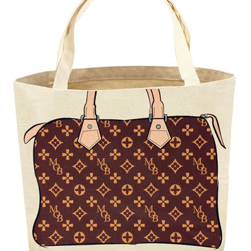 Zoey Pattern Tote Bag