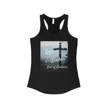 Proverbs 31 Women's Ideal Racerback Tank