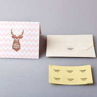Rudolph christmas card set