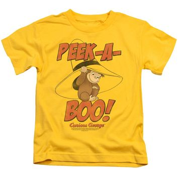 Curious George - Peek A Boo Short Sleeve Juvenile 18/1