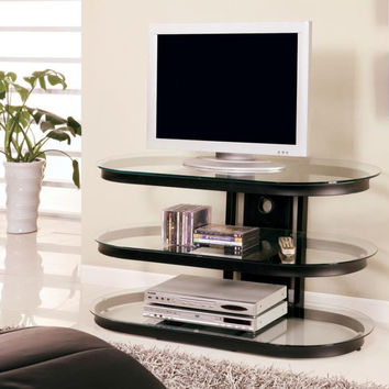 Coaster Fine Furniture Tv Console Black 700611