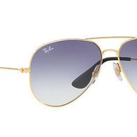Ray Ban Light Blue Gradient Sunglasses RB3558 001/19 58