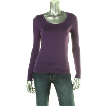 Energie Womens Juniors Judy Knit Pullover Top