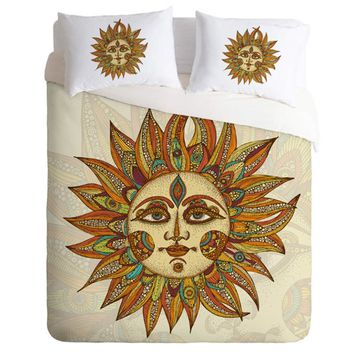 Sunshine Bed Cover Set -w- Pillow Cases