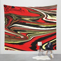 VEGOUT Wall Tapestry by Chrisb Marquez