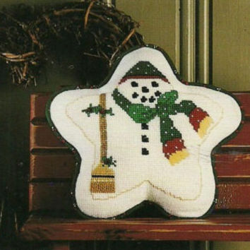 The Cricket Collection Kept In The Heart Christmas Holiday Counted Cross Stitch Patterns