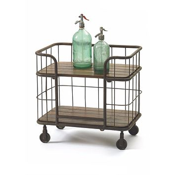 Industrial Kitchen Cart by Go Home Ltd. 12613