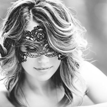 Bridal Lingerie Lace Mask Sexy Bridal Shower Gift boudoir photography Masks Shipping in 24hrs