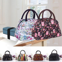 lancheira lunch bags cooler insulated lunch bag for kids women men thermal insulation lunchbag bolsa termica random color [9302564042]