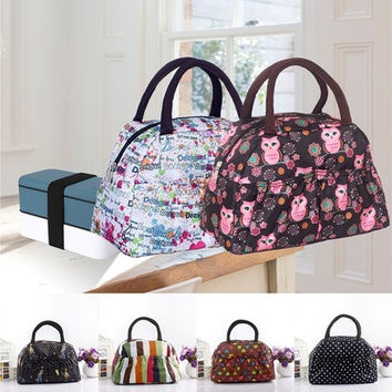 lancheira lunch bags cooler insulated lunch bag for kids women men thermal insulation lunchbag bolsa termica random color [9305886855]