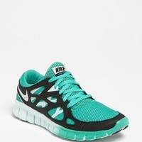 Nike Free Run 2 Ext Green Sail Light Running Trainers Womens Shoes 536746 300 (7.5)