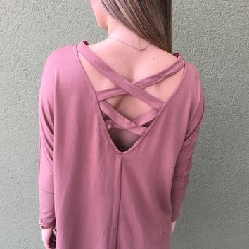 Big City Top - Mauve