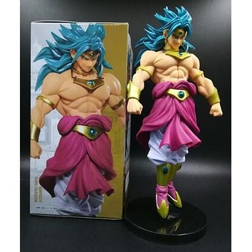 Action figure Dragon Ball Z Broly Cartoon Doll PVC 20cm Toy Japanese Figurine Anime 160707