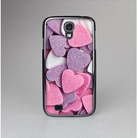The Pink and Purple Candy Hearts Skin-Sert Case for the Samsung Galaxy S4