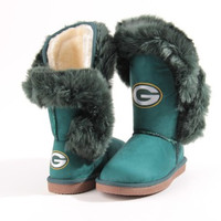 "Green Bay Packers Women's Cuce Official NFL ""Champions"" Boots"