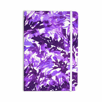 "Ebi Emporium ""In The Meadow 4-Purple Multi "" Lavender White Everything Notebook"